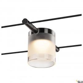 SLV COMET Black 12v Wire Light 2700K 1002688