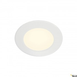 SLV 112161 Downlight DL 126 LED, round,white, 2700K