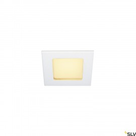 SLV 112721 FRAME BASIC LED SET, downlight, matt white, 6W, 3000K, incl.driver
