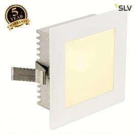 SLV 112731 FLAT FRAME BASIC recessedlight, square, white, G4, max.20W