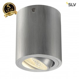 SLV 113936 TRILEDO ROUND CL ceiling light, alu brushed , LED, 6W, 38°,3000K, incl. driver