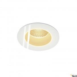 SLV 114441 PATTA-I recessed ceiling light, round, matt white, 9W, 38°,3000K, incl. driver