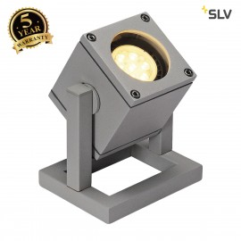 SLV 132832 CUBIX I portable floor light,silver-grey, GU10, ESL, max.25W