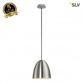 SLV 133005 PARA CONE 20 pendant, round,alu brushed, E27, max. 60W