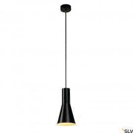 SLV 133330 PHELIA CONE PENDANT, black,E27, max. 23W