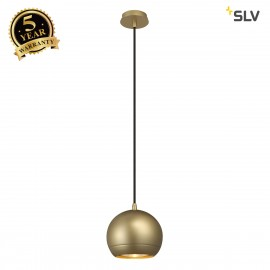 SLV 133483 LIGHT EYE pendant, brass, GU10, max. 75W