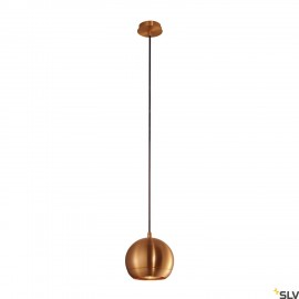 SLV 133489 LIGHT EYE pendant, copperbrushed, GU10, max. 75W