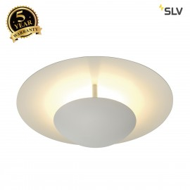 SLV 133901 LOUISSE 1 ceiling light, round, white, R7s, max. 200W