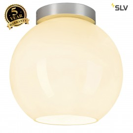 SLV 134221 SUN CEILING ceiling light,round, alu/white, E27, max.75W