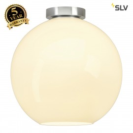 SLV 134301 BIG SUN CEILING light, round,alu/white, E27, max. 75W