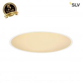 SLV 135111 MEDO 60 LED recessed ceilinglight, with frame, SMD LED,3000K, white, incl. driver