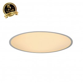 SLV 135114 MEDO 60 LED recessed ceilinglight, with frame, SMD LED,3000K, silver-grey, incl.