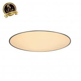 SLV 135160 MEDO 90 LED recessed ceilinglight, with frame, black