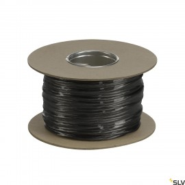 SLV 139040 LOW-VOLTAGE CABLE, for TENSEO low-voltage cable system, black, 4mm², 100m