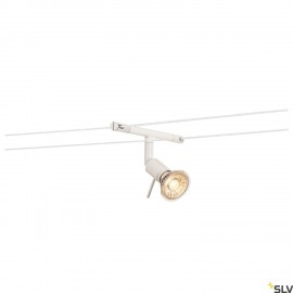 SLV 139101 SYROS, cable luminaire for TENSEO low-voltage cable system, QR-C51, white