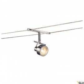 SLV 139132 SALUNA, cable luminaire for TENSEO low-voltage cable system, QR-C51, chrome