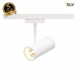 SLV 140201 REVILO LED Spot for 2Phase High-voltage Tracksystem, 2700K, white, 15°, incl. 2 Phase adapter