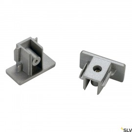 SLV 143132 End caps for 1-circuit track,surface-mounted version ,