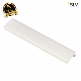 SLV 143291 Cover for 1-circuit track,recessed version, white, 1m, 2pcs.