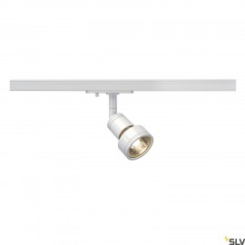 SLV 143391 PURI lamp head, white, GU10,max. 50W, incl. 1-circuitadapter