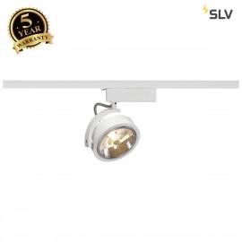 SLV 143461 KALU TRACK QRB111 SPOT, white,max. 50W, incl. 1-circuitadapter