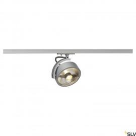 SLV 143544 KALU TRACK QPAR111 lamp head,silver-grey, incl. 1-circuitadapter