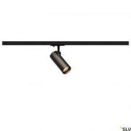 SLV 143580 HELIA 50 LED Spot for 1Phase High-voltage Tracksystem, 3000K, black, 35°, incl. 1 Phase adapter