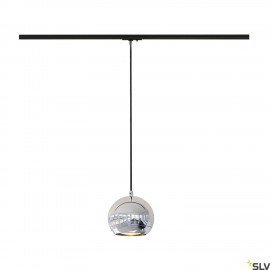 SLV 143620 LIGHT EYE ES111 pendant,chrome, GU10, max. 75W, incl.1-circuit adapter