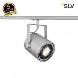 SLV 143804 EURO SPOT ES111, silver-grey,max. 75W, incl. 1-circuitadapter