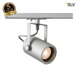 SLV 143814 EURO SPOT GU10, silver-grey,max. 25W, incl. 1-circuitadapter