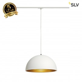 SLV 143931 FORCHINI M pendant, 40cm,round, white/gold, E27, incl.white 1-circuit adapter