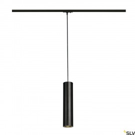 SLV 143960 ENOLA_B PD-1 pendant, black,GU10, max. 50W, incl.1-circuit adapter