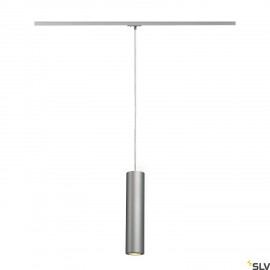 SLV 143964 ENOLA_B PD-1 pendant,silver-grey/black, GU10, max.50W, incl. 1-circuit adapter
