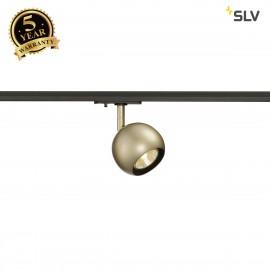 SLV 144013 LIGHT EYE 1 GU10 SPOT, brass,GU10, max. 50W, incl.1-circuit adapter