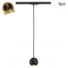 SLV 144020 LIGHT EYE PENDANT GU10,black/chrome, GU10, max. 5W,incl. 1-circuit adapter