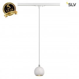 SLV 144021 LIGHT EYE PENDANT GU10,white/chrome, GU10, max. 5W,incl. 1-circuit adapter