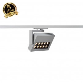 SLV 144054 PROFUNO LED Spot, silver-grey,3000K, 30°, incl. 1-circuitadapter
