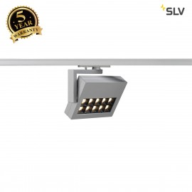 SLV 144064 PROFUNO LED Spot, silver-grey,3000K, 60°, incl. 1-circuitadapter