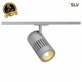 SLV 144104 STRUCTEC LED 24W, round,silver, 3000K, 36°, incl.1-phase adapter