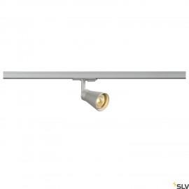 SLV 144204 AVO Spot incl. 1-phase adapter, silver, 1x GU10, max. 50W