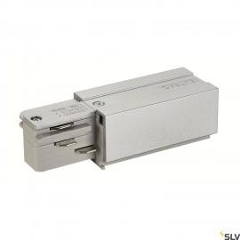 SLV 145524 EUTRAC feed-in, earth right,silver-grey