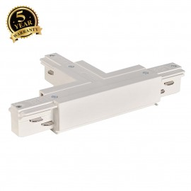 SLV 145631 EUTRAC T-connector earth left, white