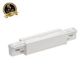 SLV 145661 EUTRAC longitudinal connector,with feed-in capability,white