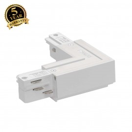 SLV 145671 EUTRAC L-connector, outerearth, white