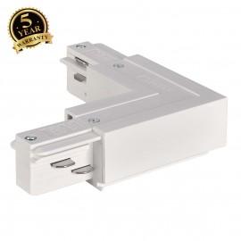 SLV 145681 EUTRAC L-connector, innerearth, white