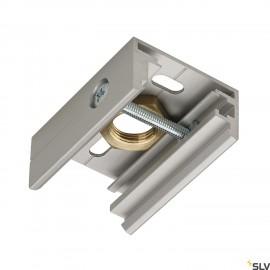 SLV 145734 EUTRAC pendant clip for3-circuit track, M13,silver-grey