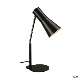 SLV 146000 PHELIA table lamp, black,aluminium/steel, GU10