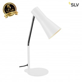 SLV 146001 PHELIA table lamp, white,aluminium/steel, GU10