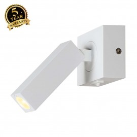 SLV 146271 STIX wall light, white, 1x 3WLED, warm white, 3000K,adjustable