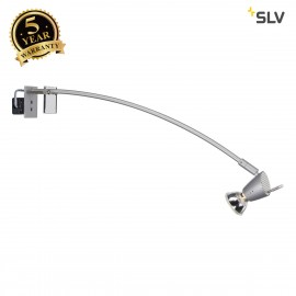 SLV 146452 FILI display fitting,silver-grey, GU10, max. 75W,with clamp